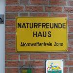 Absolut Atomwaffenfrei ... das Naturfreundehaus!